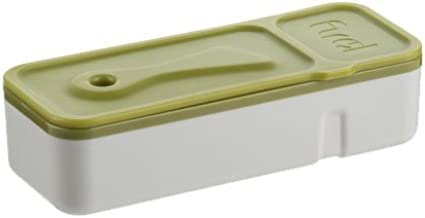 Trudeau Fuel Snack and Dip container - Green