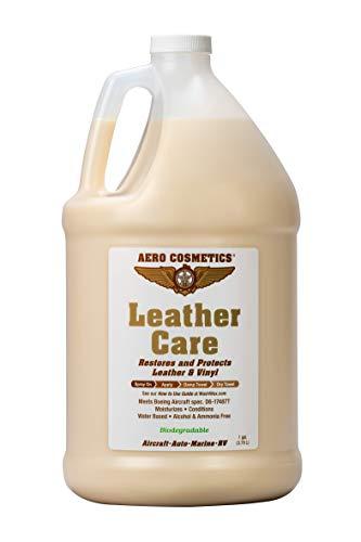 Leather Care, Acondicionador de Cuero de Calidad Aeronáutica para tu Coche, Aeronaves, RV, Barco y Motocicleta 3,78L