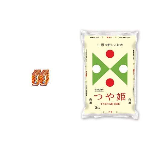 味の素 Cook Do 干焼蝦仁用 64g×10個 +  【精米】山形県産 白米 つや姫 5kg 令和元年産