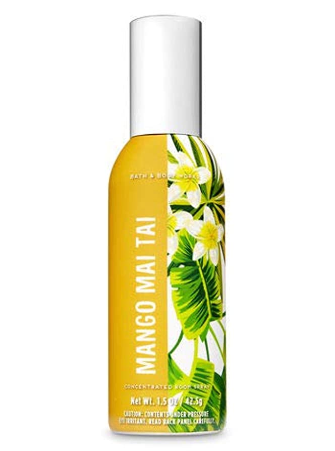 高度な誰でも属する【Bath&Body Works/バス&ボディワークス】 ルームスプレー マンゴーマイタイ 1.5 oz. Concentrated Room Spray/Room Perfume Mango Mai Tai [並行輸入品]