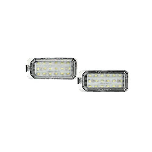 Satz Passform LED Nummerschildbeleuchtung kompatibel mit Ford/Jaguar Diversen