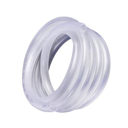 ZTMN Tuinslang, PVC Transparant Vier Seizoen Rundvlees Tendon Slang, Huishoudelijke Watering/Landbouw/Tuinslang (Kleur : 15mm, Maat : 10m(32.8ft))