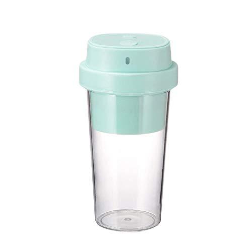 SXXYTCWL Juicer portátil plástico Saludable Mini exprimidor USB Juicer Cup Fruit Fruit Electric Juice Blender BPA Oficina en casa Gratis Viaje de Deportes al Aire Libre 350 ml (Rosa