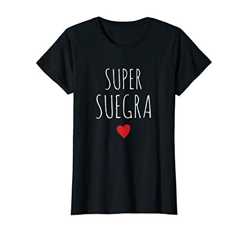 Mujer Super Suegra Mejor Suegra Del Mundo Día de la Madre Mamá Camiseta