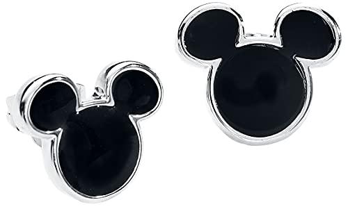 Micky Maus Disney by Couture Kingdom - Mickey Frauen Ohrstecker-Set silberfarben
