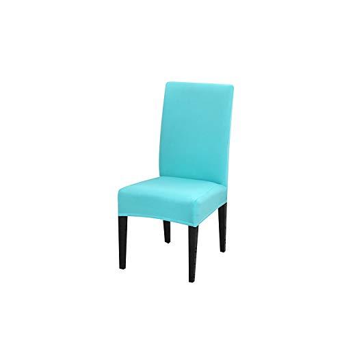 HGblossom Stuhlbezug Abnehmbare elastische Stoffbezüge Maschinenwaschbar Schonbezug Hochzeiten Bankettklappbar 015 Ubiversal Größe