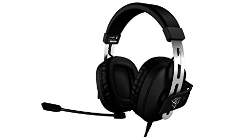 ThunderX3 TH30 - Auriculares gaming profesional (driver 53mm, conexion universal, jack 3.5mm, estereo 2.1, microfono con cancelacion de ruido, PC / movil) color negro