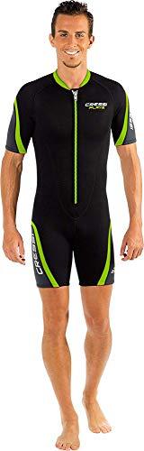 Cressi Playa Man Shorty Wetsuit 2.5mm - Kurzer Neoprenanzug für Herren aus hochelastischem Neopren 2.5mm, Verschiedene Farben