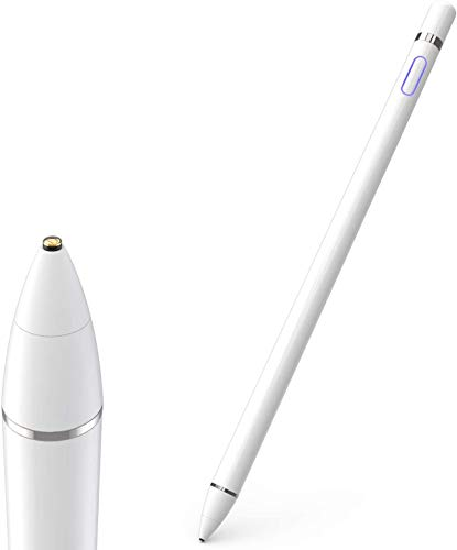 Stylus Pen for Touch Screens, Active Pencil Smart Digital Pens Fine Point Stylist Compatible with iPhone iPad Pro Air Mini and Other Tablets