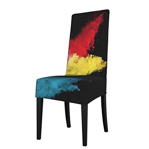 TOBEEY Fundas antipolvo para silla de arte en polvo explosión alta protectores de asiento fácil de limpiar silla de comedor funda para fiesta