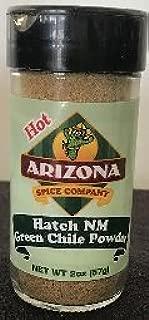 Green Chile Powder, Hatch NM HOT 2 oz