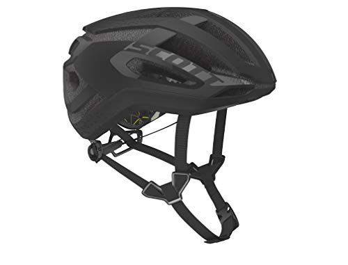 SCOTT 275186 Fahrradhelm, Unisex, Erwachsene, Stealth Blck, L