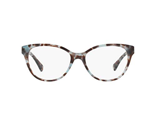 Ralph Lauren RALPH BY 0RA7103 Monturas de gafas, Blue Tortoise, 54 para Mujer