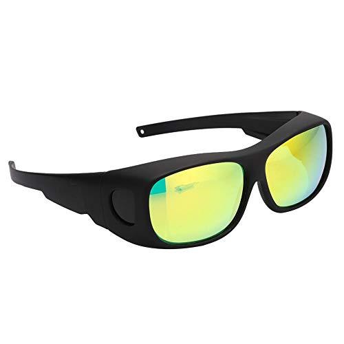 Gafas de seguridad, gafas protectoras, gafas LED para salas de cultivo Polarización UV para carpas Invernadero hidropónico Planta Luz Protección para los ojos