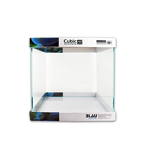Blau Aquaristic 7785042 - Aquascaping cúbico, 42 litros, 35x35x35 cm