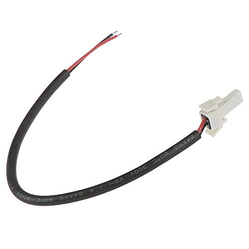 Cable de Luz Trasera Reforzado, Conector de Batería de Freno Compatle con Xiao-mi M365 1S Essential Pro Scooter Eléctrico Poweka