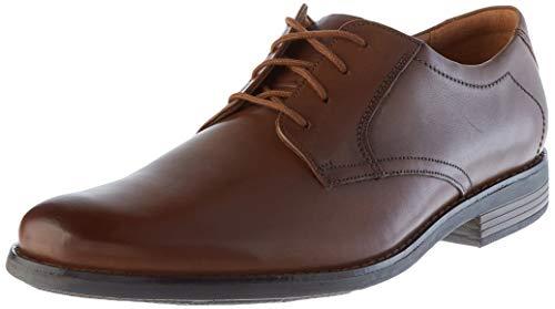 [クラークス] ビジネスシューズ 革靴 ベッケンレース 本革 メンズ ダークタンレザー 26.0 cm