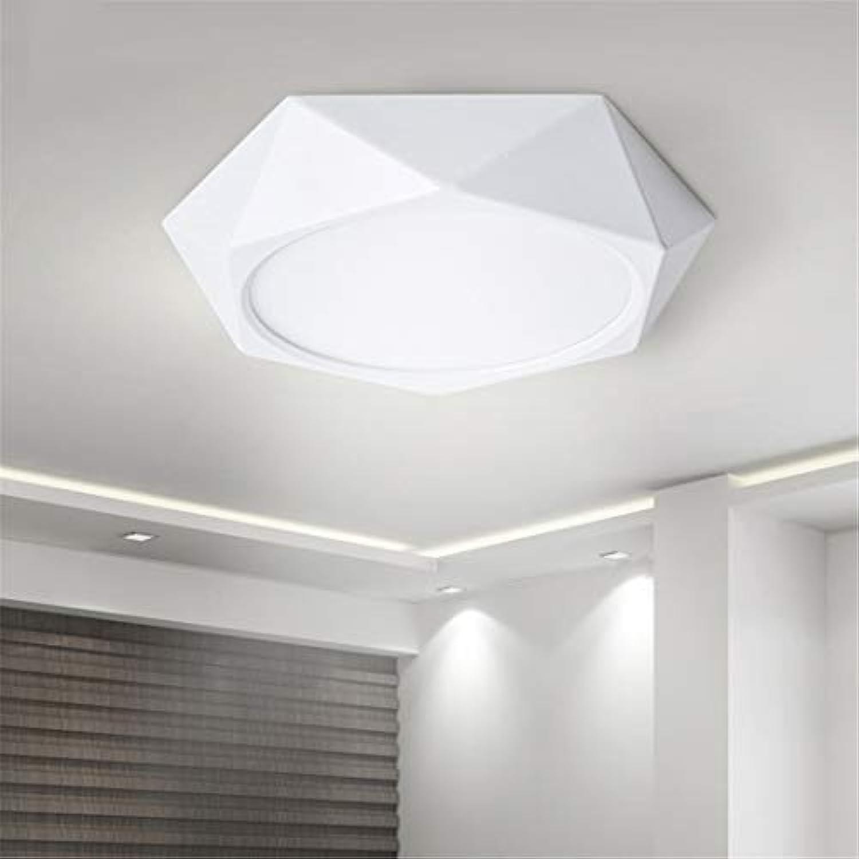 Deckenleuchte LED Moderne Schlafzimmer 24W Weiß Cool ...