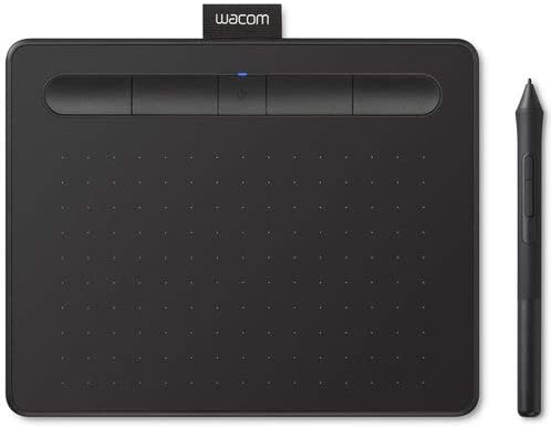 Wacom Intuos CTL4100WLK0 Wireless Graphics Drawing Tablet with 3 Bonus Software Included, 7.9
