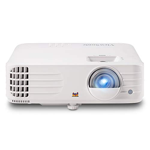 ViewSonic 1080p Projector with RGB 100% Rec 709, ISF Certified, Low Input Lag for Sports, Gaming and Netflix (with Casting Device) (PX727HD)