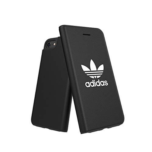 Cover Adidas originale Basic FW18 bianco/nero compatibile con iPhone 6/6S/7/8