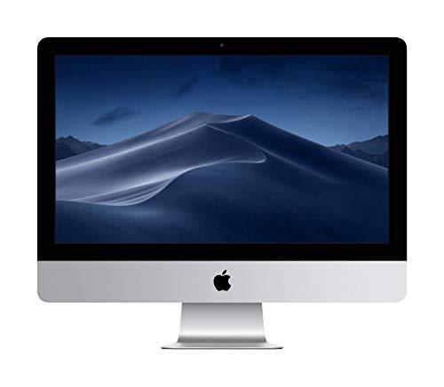 Apple iMac (21.5-inch Retina 4K display, 3.0GHz 6-core 8th-generation Intel Core i5 processor, 1TB) - Silver (Latest Model) (Refurbished)