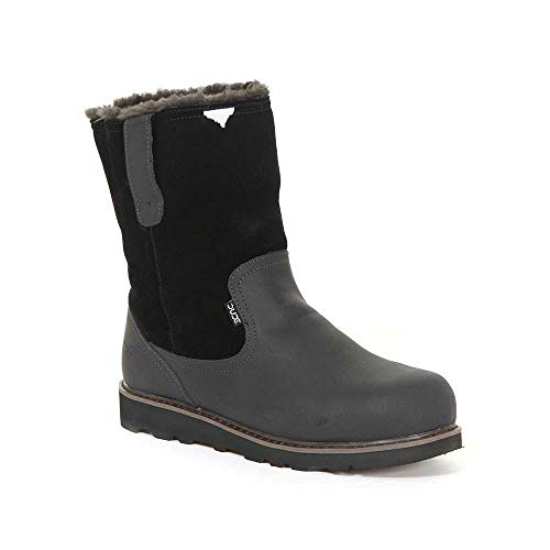 Dude Shoes Men's Vigo Easy Life Black Leather Work Boot UK9 / EU43