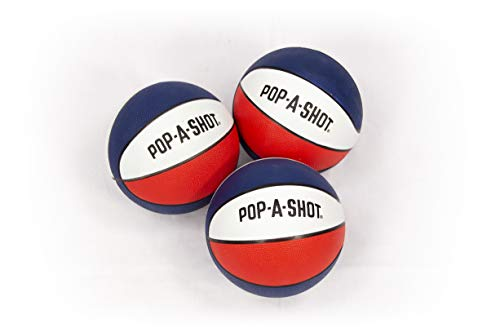 Great Features Of Pop-A-Shot Official Mini Basketball-Pack of 3