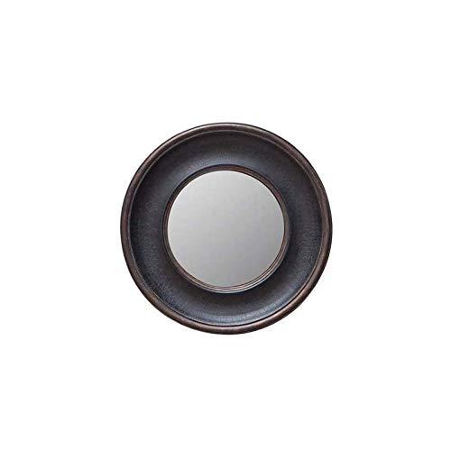 Chehoma - Specchio a Forma di Strega, Convesso, Rotondo, 38 cm
