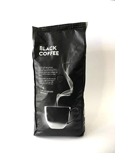 Black Coffee Café negro en grano mezcla 80% Natural 20% torrefacto