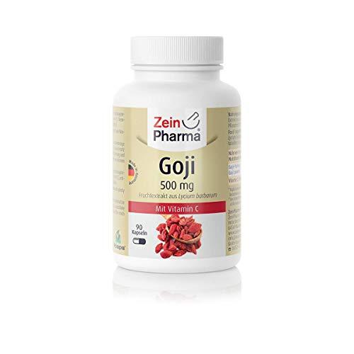 ZeinPharma Goji 500 mg, 90 Kapseln, 1er Pack (1 x 56 g)