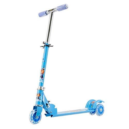 YVX Kinderroller dreirädriges Kind Jo-Jo Fahrrad Baby Allrad Pedalrutsche
