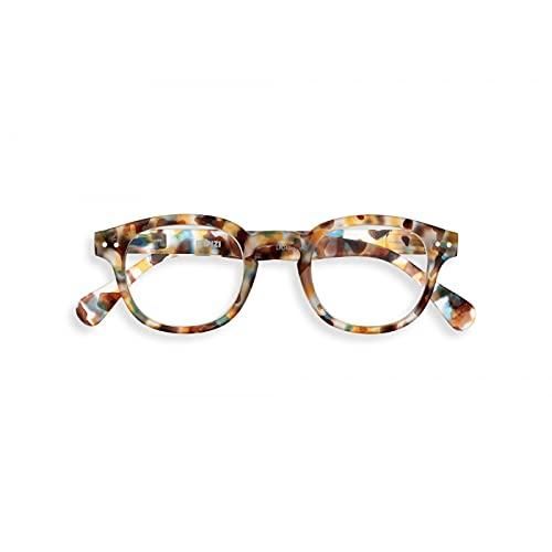 IZIPIZI #C Blue Tortoise Reading Glasses +2.5 Blue Tortoise