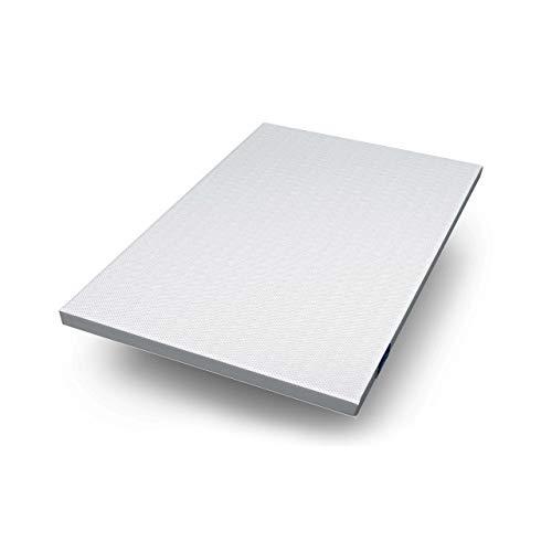 Genius Eazzzy Topper (140 x 200 x 7 cm) als Matratzenauflage für Matratzen & Boxspringbetten Viskoelastischer Matratzentopper für Allergiker (weitere Größen erhältlich)