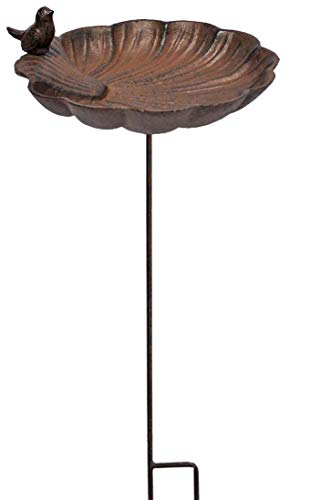 La Grande Prairie Tuteur Mangeoire Coquille 27x27x105cm