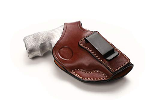 Pusat Holster Revolver Leather 1.87 inch IWB Concealed Carry Holster...