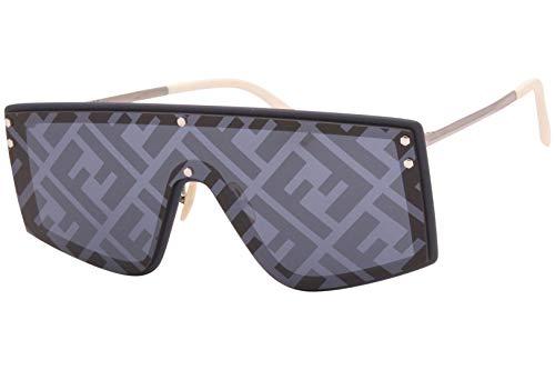Fendi FENDI FABULOUS FF M0076/G/S BLUE/BLUE 99/1/145 men Sunglasses