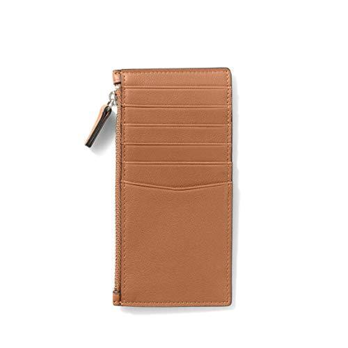 Leatherology Devon Slim Zip Card Case