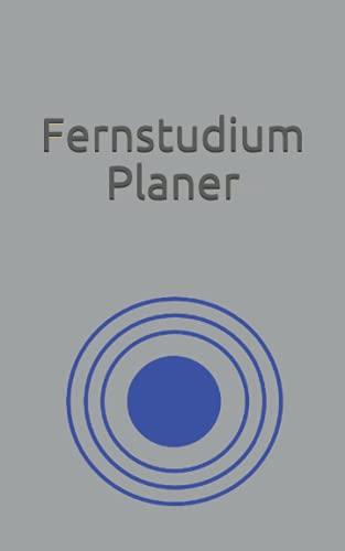 Fernstudium Planer: Ein Kalender (nicht nur) für die Studenten der Fernuni Hagen