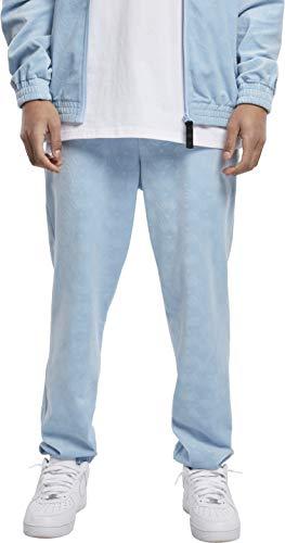 Southpole Herren AOP Velour Pants Hose, Babyblue, S