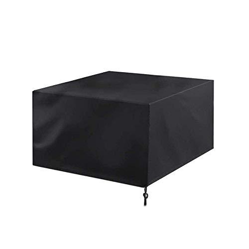 RTYUI Copertura per mobili da giardino, 420 D, 170 x 94 x 70 cm, resistente tessuto Oxford, antivento, impermeabile, pioggia, neve, polvere, antivento, anti-uv, per patio, patio (nero)