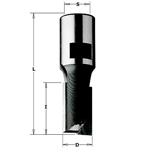 CMT Orange Tools CMT 170.200.11 - Fresa para electrofresadora z2 hm d=20x25 s=m12x1 dx