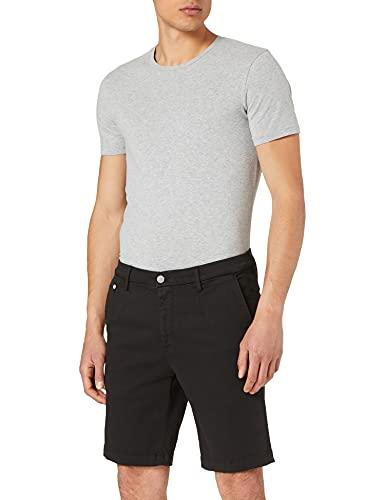 REPLAY LEHOEN Short Pantalones Cortos de Jean, 040 Black, 38 para Hombre