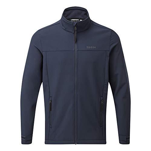 TOG 24 Feizor Lightweight Mens Softshell Jacket, Windproof, Showerproof Zip Up Outdoor Jacket