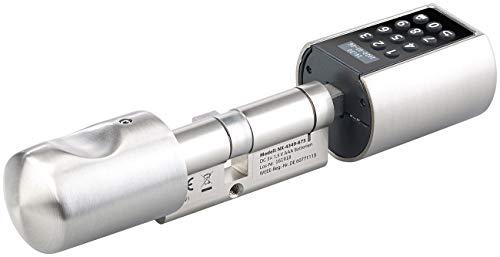 VisorTech Türschloss: Elektronischer Tür-Schließzylinder, Transponder, Code, Bluetooth & App (Elektronisches Türschloss) - 6