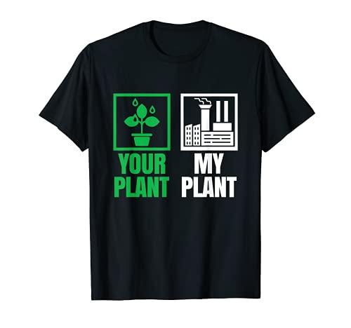 Divertente Power Plant Worker & Engineer regalo di lavoro Maglietta
