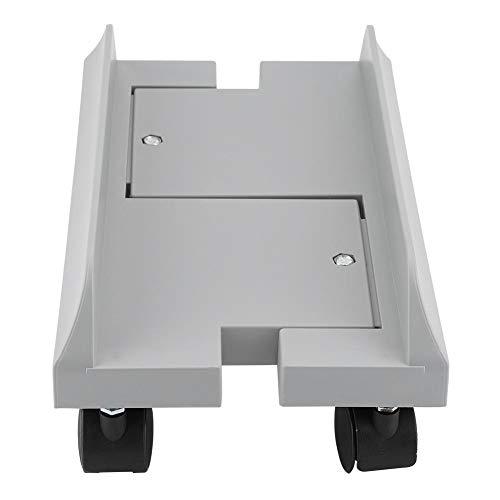 Soporte para monitor ajustable, extraíble, estante soporte para soporte de escritorio Mainframe Storage Rack Carro porta PC Portacase con freno
