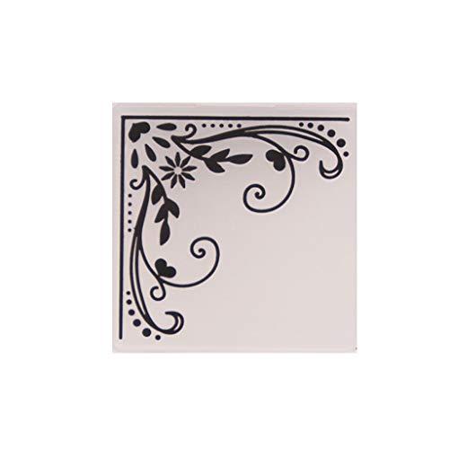 tarjetas Huwaioury /álbum de fotos manualidades Carpeta de pl/ástico para repujado plantilla para /álbum de recortes decoraci/ón