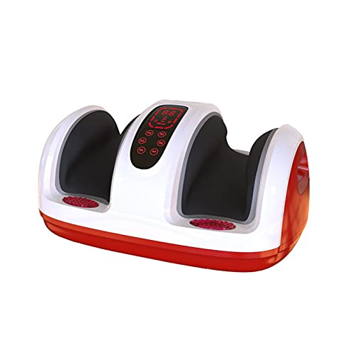Duvets Foot Massager with Heat, Kneading and Reflexotherapy Massage, Specially Designed To Relieve Pain and Muscle Tension In Feet, Ankles and Calve, Shiatsu Foot Massage Machine