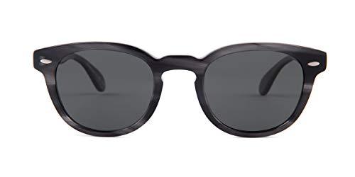Oliver Peoples Gafas de Sol Sheldrake Sun OV 5036S Charcoal Tortoise/Midnight Express 47/22/145 Unisex